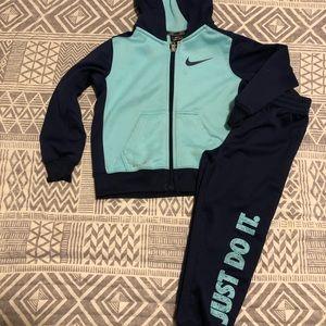 Girls Nike matching set